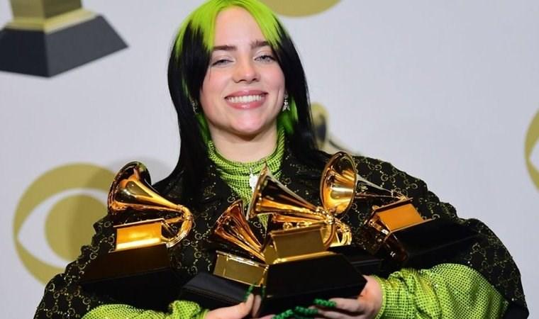 Grammy Ödülleri: Billy Eilish damgasını vurdu, Michelle Obama şaşırttı, Kobe Bryant unutulmadı