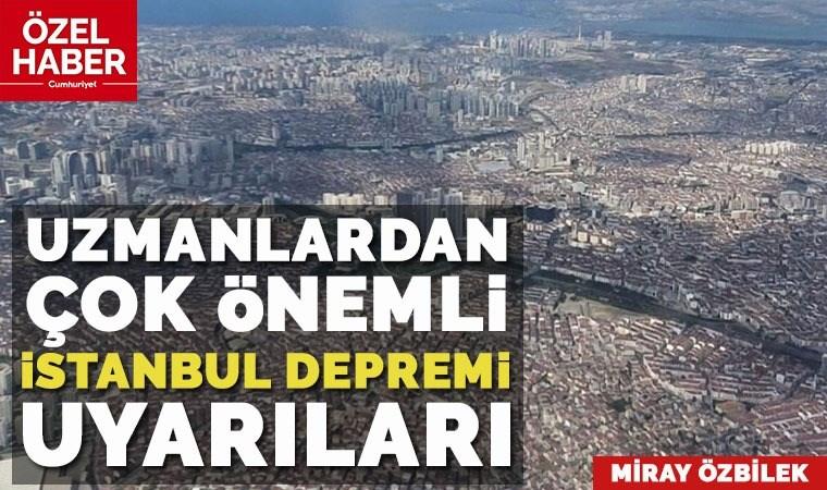İstanbul büyük depreme hazır mı? Uzmanlar tüm olasılıkları tek tek anlattı