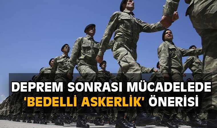 CHP'li Teoman Sancar: Bedelli askerlere 1 ay AFAD eğitimi verilmeli