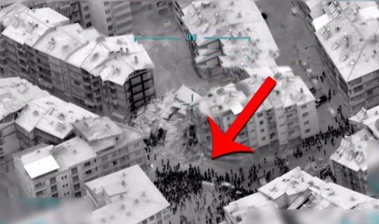 6.8'lik depremin ardından ortaya çıkan görüntü! Panik anları kamerada