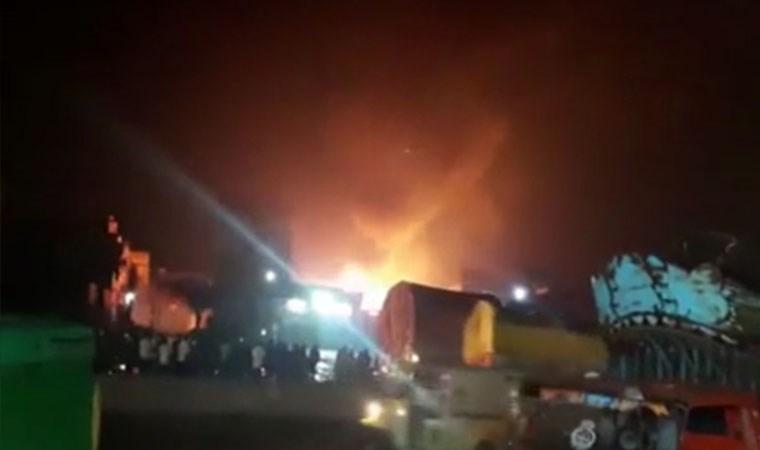 Pakistan'da parfüm fabrikasında patlama: 12 ölü