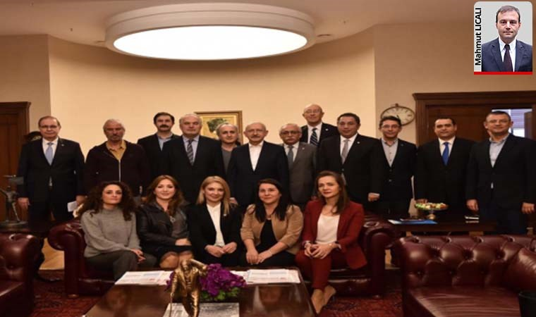 Kılıçdaroğlu sağlıkçılarla görüştü