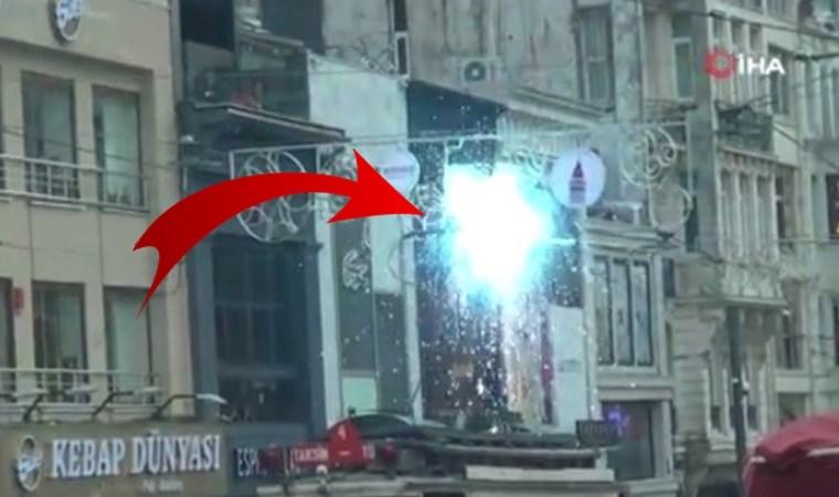 İstiklal Caddesi'nde korku dolu anlar! Her şey bir anda oldu