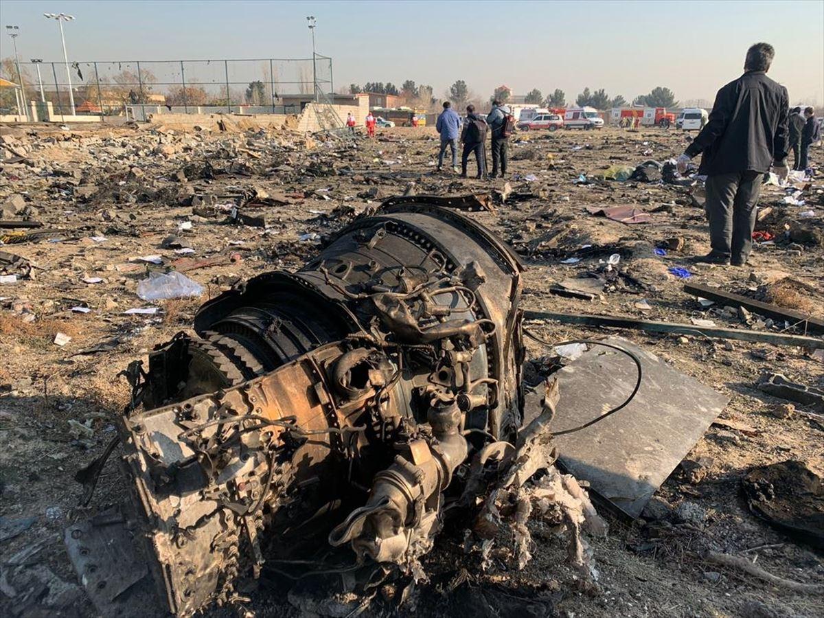Tahran'da düşen Ukrayna uçağında bilanço ağır! 176 kişiden kurtulan olmadı