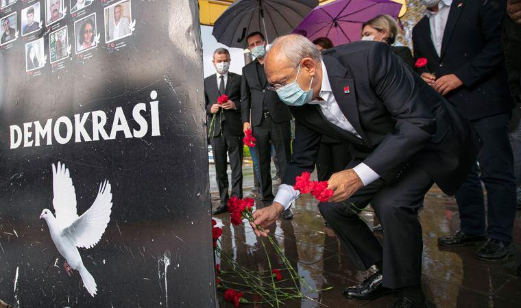 Kılıçdaroğlu, 10 Ekim Katliamı'nda hayatını kaybedenleri andı