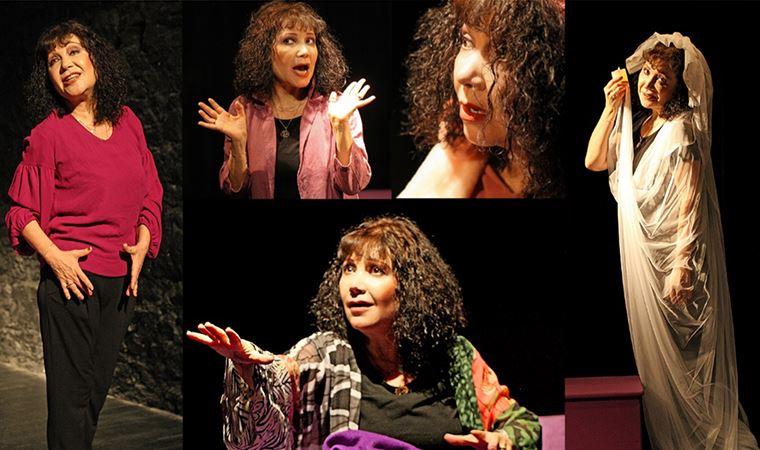 'Ben varım' diyen bir kadın sahnede!