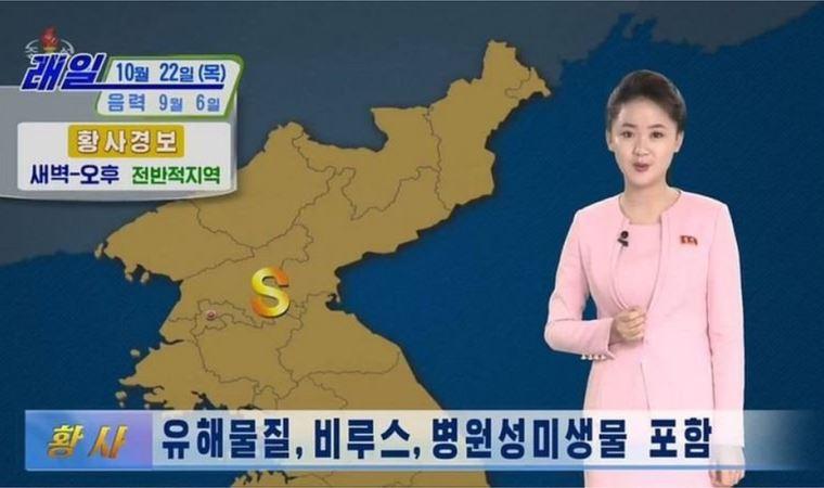 Kuzey Kore yönetimi halkı uyardı: 'Çin'den gelen tozda koronavirüs var, evden çıkmayın'