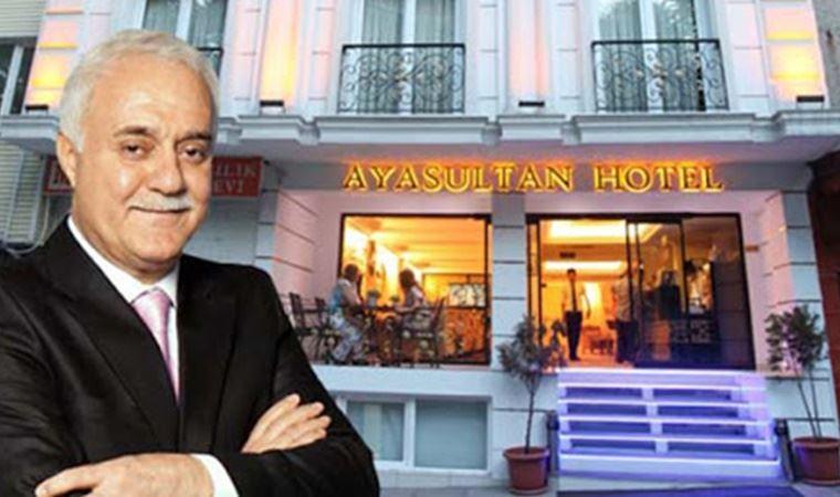 Dikkatlerden kaçmadı! Nihat Hatipoğlu'nun otelinde içki satılması gündemde!