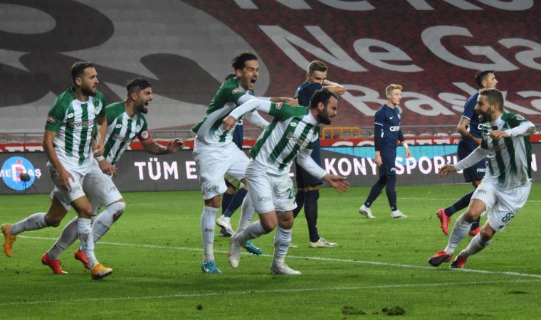 Konyaspor, Kasımpaşa'yı geçti!