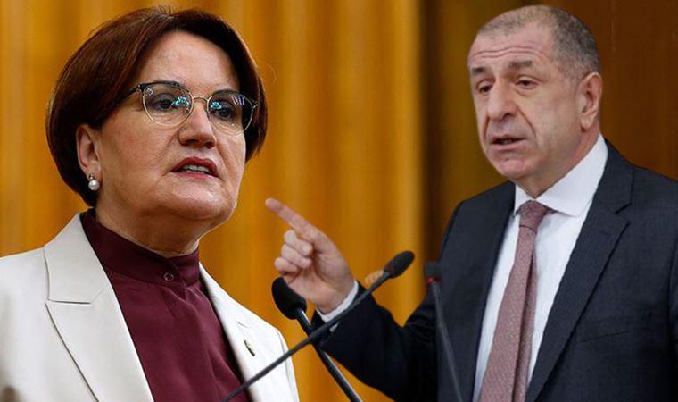 Meral Akşener'den dikkat çeken Ümit Özdağ açıklaması