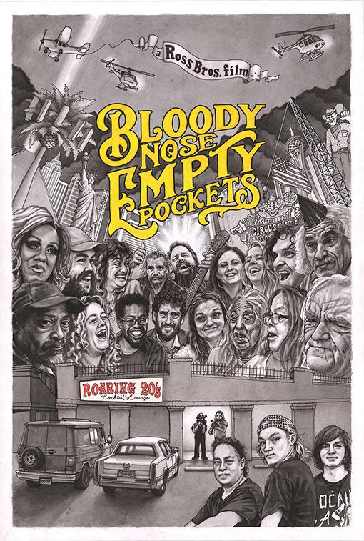 """<p>""""Bloody Nose, Empty Pockets"""" - Bill Ross IV, Turner Ross</p><p>Yönetmenliğini Bill Ross IV ve Turner Ross'un üstlendiği """"Bloody Nose, Empty Pockets"""" filminin oyuncuları arasında Shay Walker, Peter Elwell, Michael Martin gibi isimler yer alıyor.</p><p>Las Vegas'da bulunan """"Roaring 20s"""" adındaki barın kapanmadan önceki son gecesinde yaşananları konu edinen film, 2016 yılında yapılan başkanlık seçimlerinde belirsiz bir geleceğe bakan insanların hayatına odaklanıyor.</p>"""
