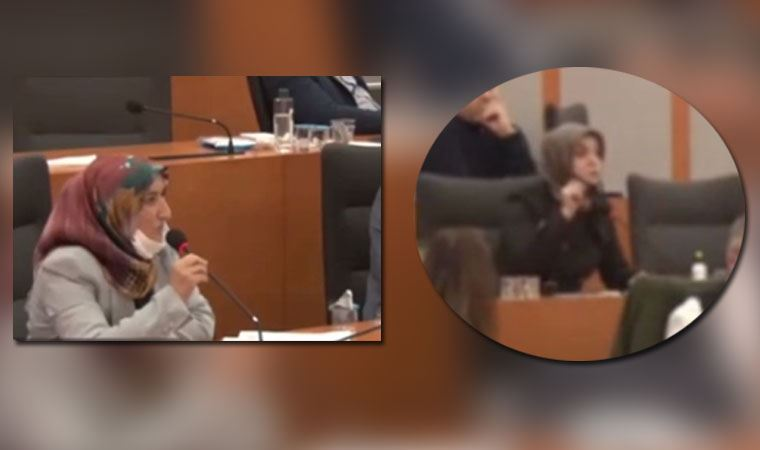 AKP'li üye ile CHP'li üye arasından ilginç tartışma