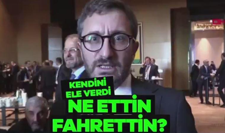 CHP'lilerden Fahrettin Altun videosu