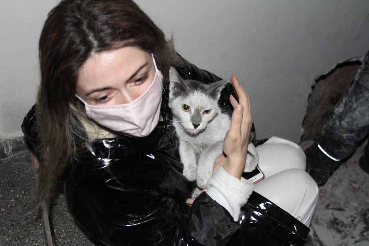 175249422 depremden 42 gun sonra kedisine kavusan yasemin hep dua ettim 1