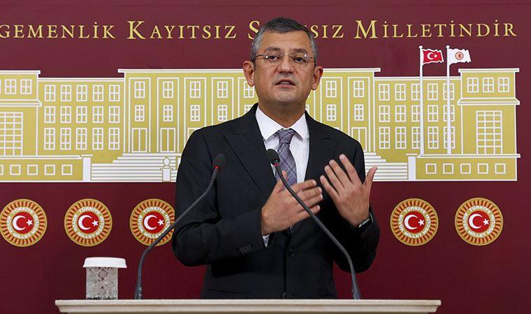 CHP'li Özgür Özel'den Bakan Çavuşoğlu'na çok sert sözler
