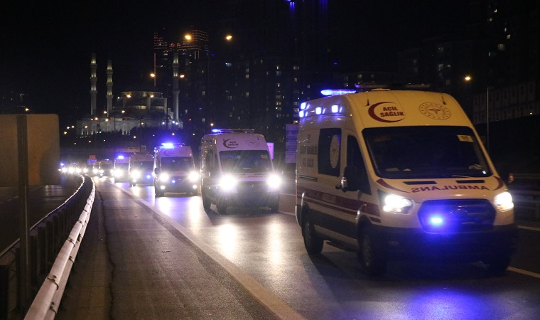020616050 ambulans konvoyu 2