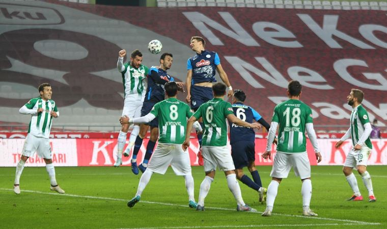 S U00fcper Lig U0026 39 In U00f6nemli Ma U00e7 U0131nda Konyaspor Ka U00e7t U0131 Rizespor Yeti U015fti