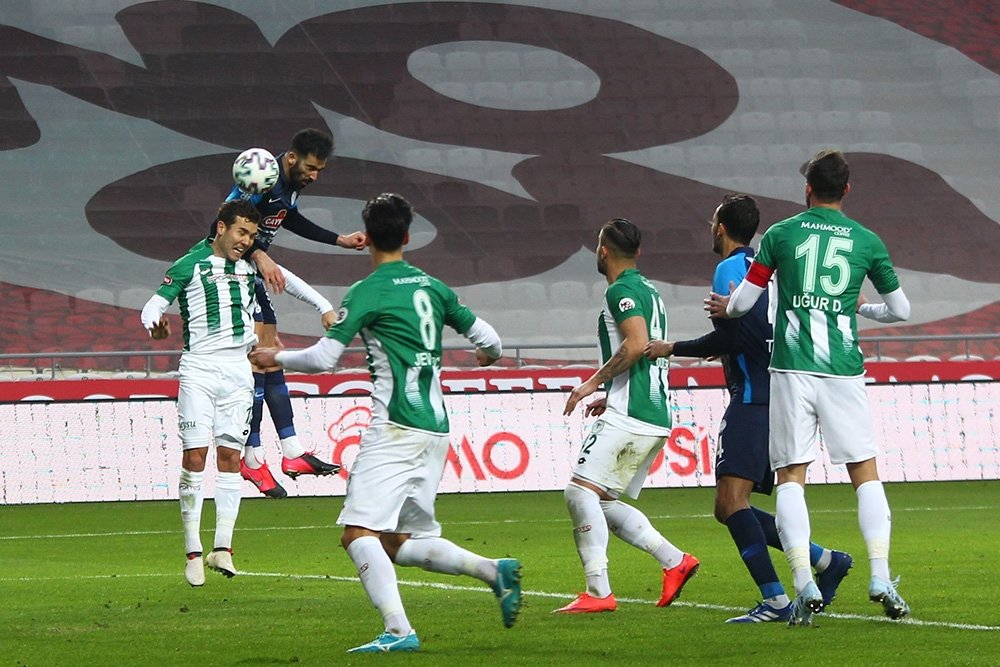 Sondakika S U00fcper Lig U0026 39 In U00f6nemli Ma U00e7 U0131nda Konyaspor Ka U00e7t U0131
