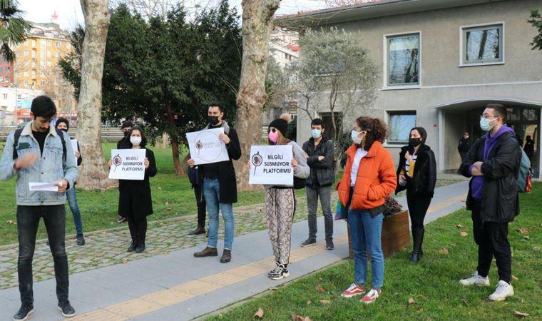 Bilgi Üniversitesi öğrencileri haklarına sahip çıkıyor