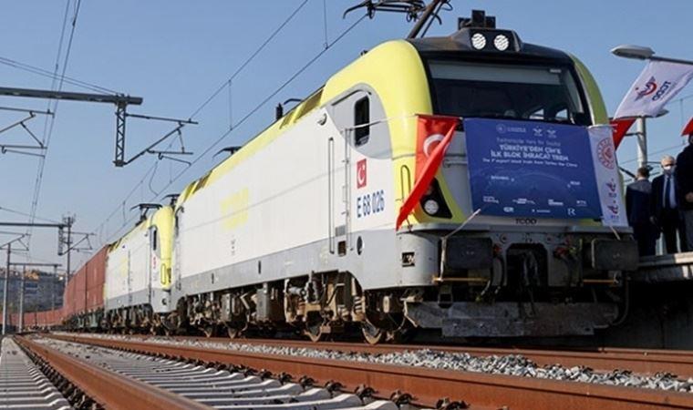 TCDD Taşımacılık AŞ'den Çin'e giden ihracat treni hakkında açıklama