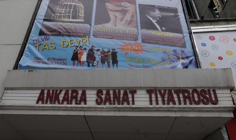 Mansur Yavaş kapanmak zorunda kalan Ankara Sanat Tiyatrosu için harekete geçecek