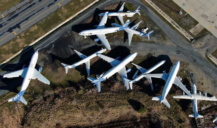 İstanbul'un hayalet uçakları