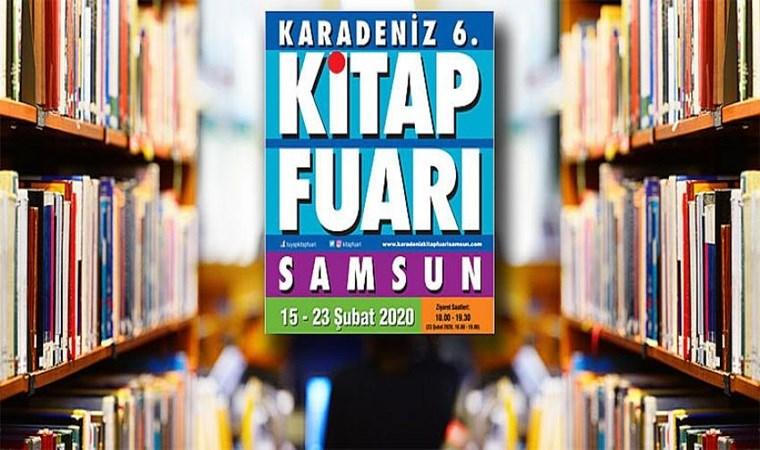 Karadeniz 6. Kitap Fuarı yarın Samsun'da başlıyor