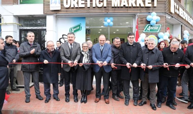 Merzifon Belediyesi'nden 'Üretici Market'