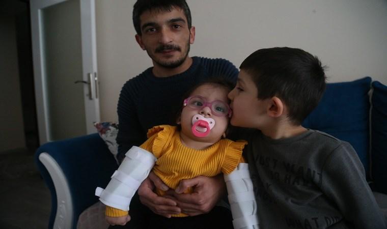 15 aylık Belinay tedavi için yardım bekliyor