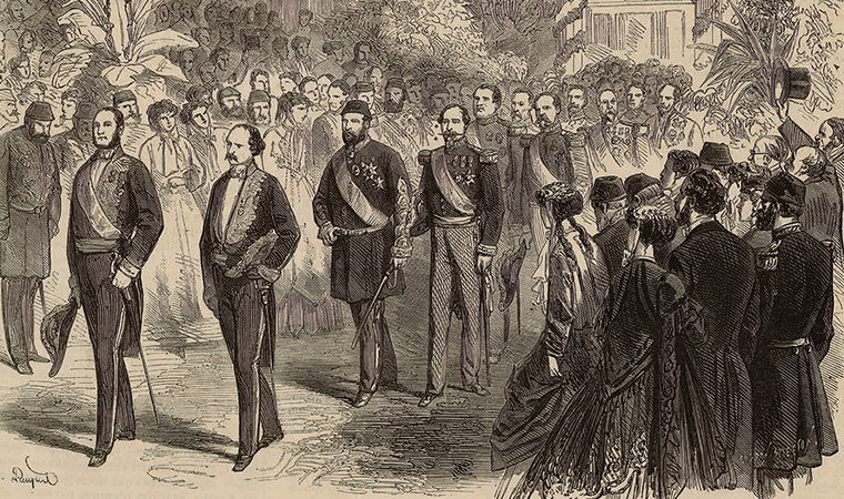 Paris'te Bir Padişah İstanbul'da Bir İmparatoriçe