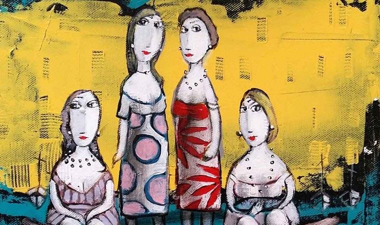 Alpar'ın çizgileriyle 'Düşsel Kadınlar'
