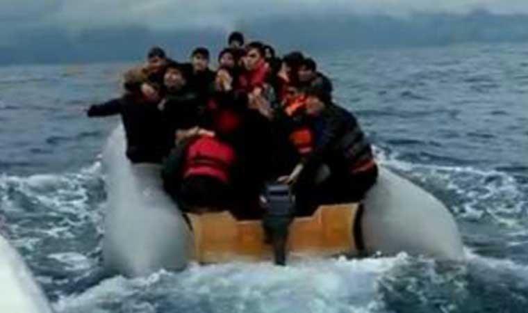 İzmir'de 33 göçmen yakalandı