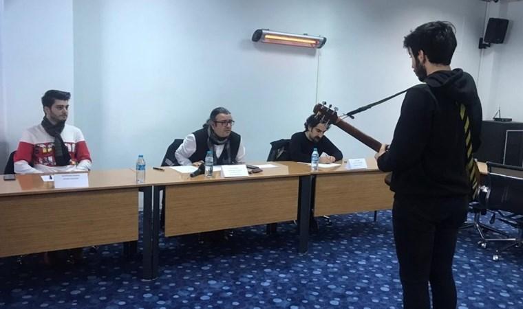 Vapur hatlarında müzisyen olmak için jüri karşısındalar
