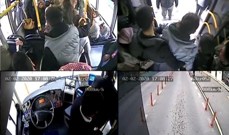 Halk otobüsünde dehşet! Şoför güzergahı değiştirdi