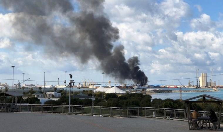 Libya Ulusal Ordusu: Türkiye'ye ait gemiyi yok ettik
