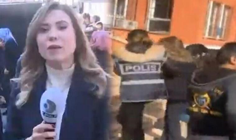Kanal D muhabiri Şevval Şirin'e gözaltı