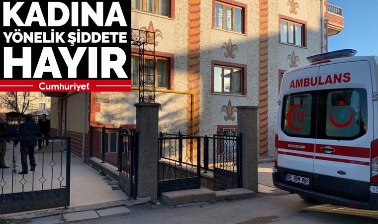 Ankara'da korkunç cinayet! Karısını boğarak öldürdü