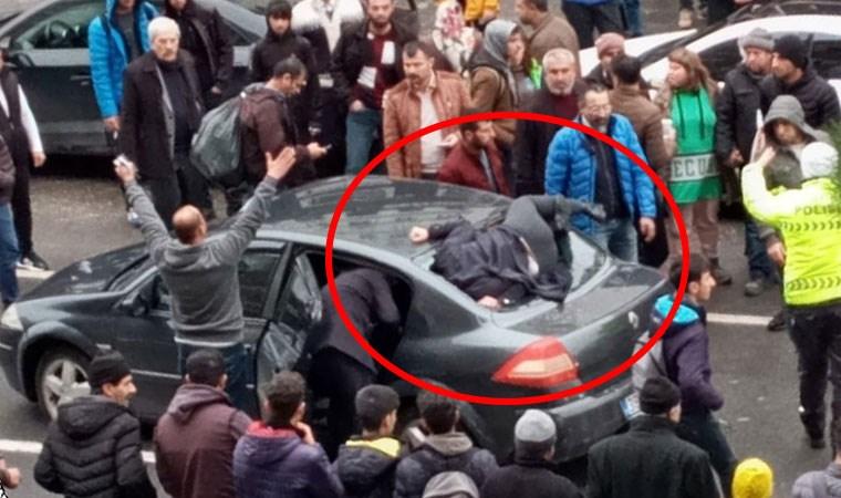 Diyarbakır'da dehşete düşüren kaza anı kamerada