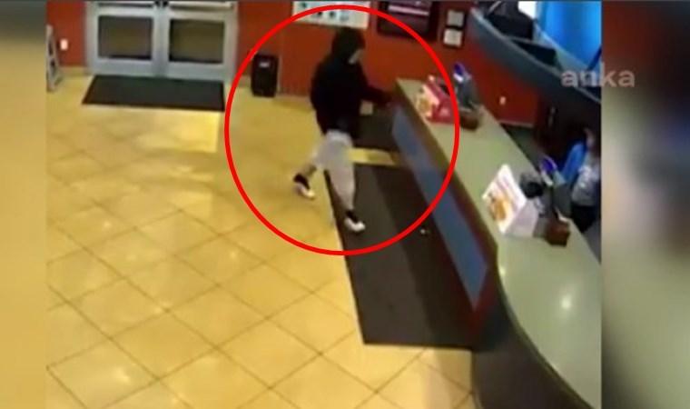 Soygun için girdiği restoranda büyük şok yaşadı!