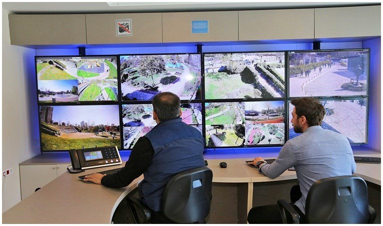 Ataşehir'de parklardaki acil durum butonlarının sayısı artıyor