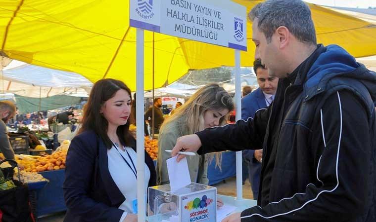 Bodrum'da belediyenin yapacağı hizmetler 'mini referandum' ile belirleniyor