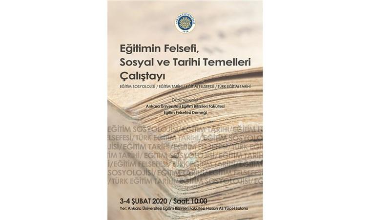 Ankara'da 2 günlük Eğitim Çalıştay'ı