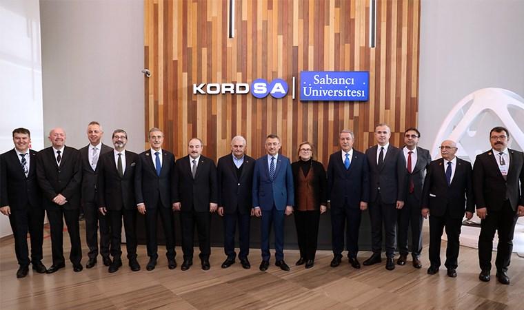 Türkiye'nin Teknoloji Üssü Kompozit Teknolojileri Mükemmeliyet Merkezi, Devletin Zirvesini Ağırladı