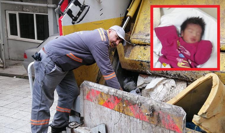 Şişli'de çöp konteynerinde yeni doğmuş bebek bulundu
