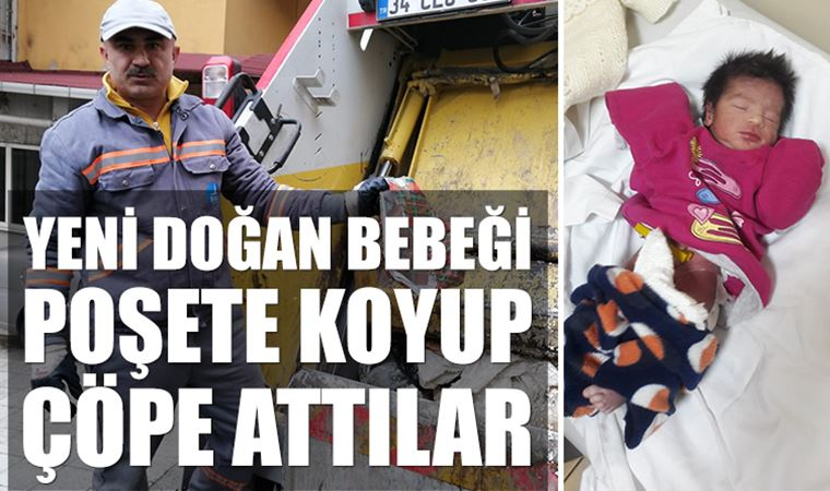"""İstanbul'da çöpe atılan """"vicdan""""! Ağlama sesi ile korkunç gerçek ortaya çıktı"""