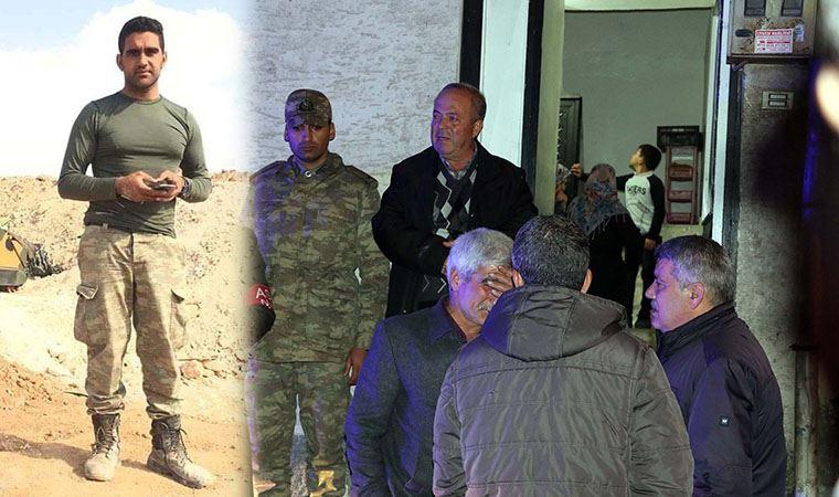 İdlib şehidi Mustafa Ertürk'ün acı haberi Gaziantep'teki ailesine ulaştı