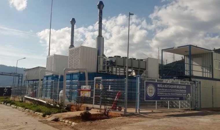 Muğla'da 130 bin evin kullanacağı elektrik çöpten üretiliyor