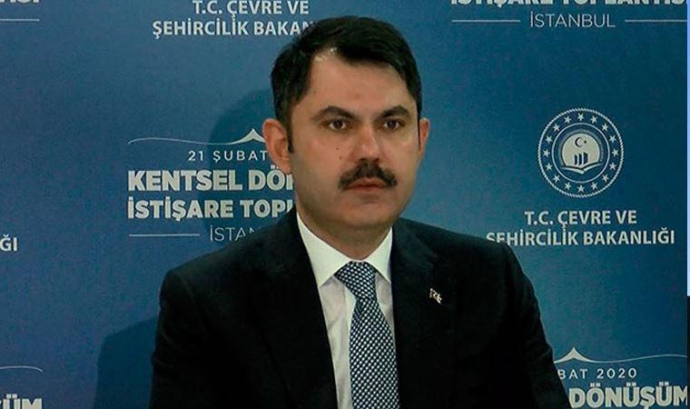Bakan Kurum açıkladı: İstanbul'da ağır hasarlı binaların yıkım sürecini başlattık