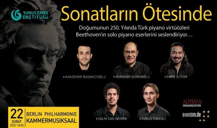 Berlin Filarmoni'de beş Türk piyanist