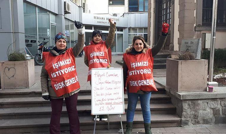 Bergama'da işçilerin eylemi yasaklandı: Erdoğan geliyor direnemezsiniz